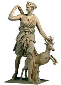 Artemis, Goddess of the Hunt.