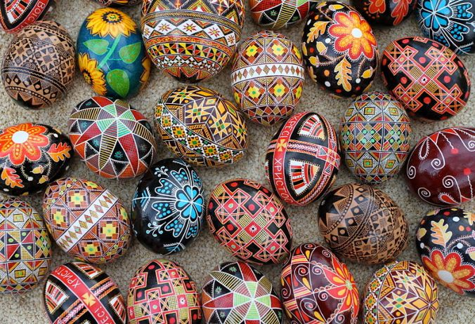 Celebrate spring at the Pysanka Ukrainian Egg painting workshop Sat. 4/12  2-4 pm.