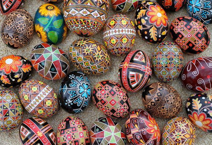 Celebrate spring at the Pysanka Ukrainian Egg painting workshop Sat. 4/12  2-4 pm.