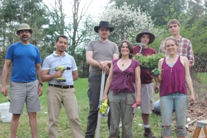 The Crew!  Parakh, Nouri, Drew, Evan, Tim, Christina and Maureen.  What a day!