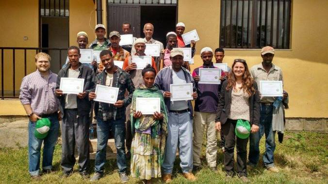 The GreenPath Permaculture Apprenticeship Program proudly presents Ethiopia's first cohort of certified organic fruit and vegetable outgrowers!